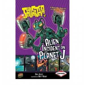 Alien Incident On Planet J