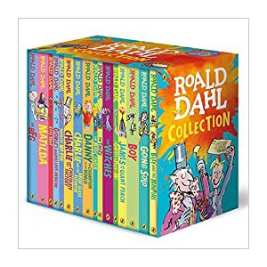Roald Dahl Box Set (16Titles)